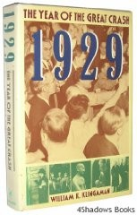 1929: The Year of the Great Crashby: Klingaman, William K. - Product Image