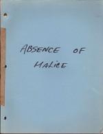 Absence of Malice: an Original ScreenplayLuedtke, Kurt - Product Image