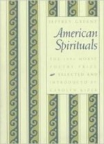 American Spirituals (Samuel French Morse Poetry Prize)by: Greene, Jeffrey - Product Image