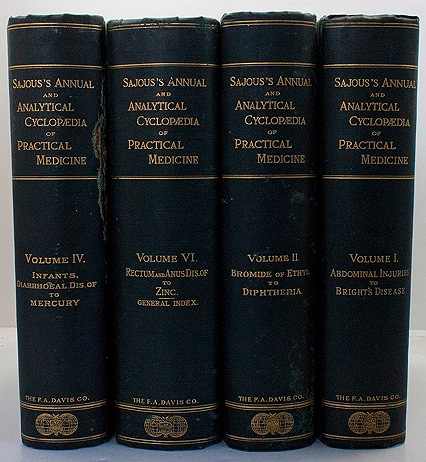 Annual and Analytical Cyclopaedia of Practical Medicine (Volumes 1, 2, 4 and 6)by: Sajous, Charles E. de M.  - Product Image