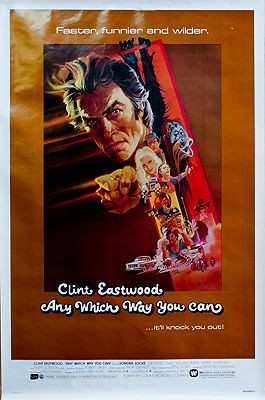 Any Which Way You Can (MOVIE POSTER)Peak, Robert, Illust. by: Robert  Peak - Product Image