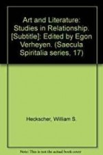 Art and literature: Studies in relationshipby: Heckscher, William S - Product Image