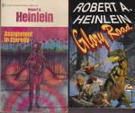 Assignment in Eternity, Glory Road,  Beyond This Horizon, Methuselah's Children (4 paperback novels)by: Heinlein, Robert - Product Image