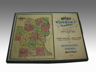 Atlas of Windham County, Vermont: Centennial Edition 1869-1969.by: Beers, F. W., Geo. P. Sanford and others - Product Image
