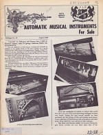 Automatic Musical Instruments (9 Issues)Hathaway, Bowers - Product Image