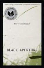 Black Aperture: Poems (Walt Whitman Award)by: Rasmussen, Matt - Product Image