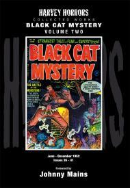 Black Cat Mystery: Vol 2: Harvey Horror Collected Worksby: Various - Product Image