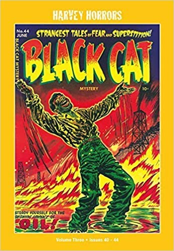 Black Cat Mystery: Vol 3: Harvey Horror Collected Worksby: Various - Product Image