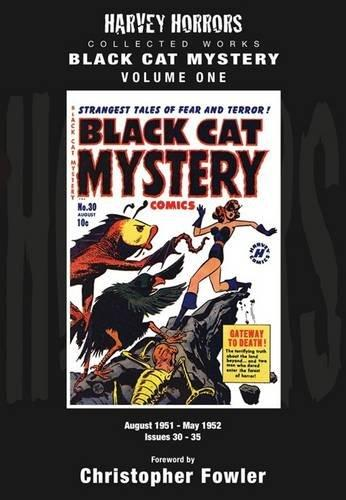 Black Cat Mystery: Volume 1: Harvey Horrors Collected Worksby: N/A - Product Image