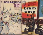 Brain Wave, Satan's World, The Horn of Time, Time and Stars (4 paperback novels)by: Anderson, Poul - Product Image