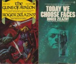 Bridge of Ashes, Doorways in the Sand, Guns of Avalon, Today We Have Faces (4 paperback novels)by: Zelazny, Roger  - Product Image