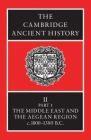 Cambridge Ancient History,Third Edition, Volume II, Part I: History of the Middle East and the Aegean Region 18001380 BCby: Edwards, I.E.S., C.J. Gadd, H.G.L. Hammond - Product Image