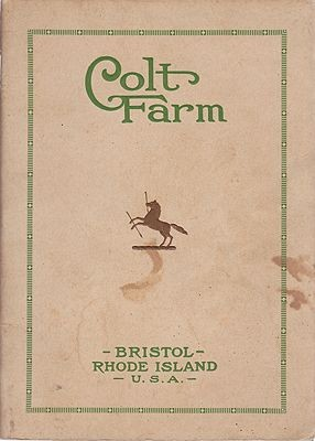 Colt Farm - Bristol, Rhode Island, TheHubbard, Elbert/Col. Samuel P. Colt/Colt Farm - Product Image
