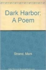 Dark Harbor: A Poemby: Strand, Mark - Product Image