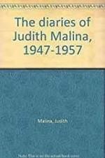 Diaries of Judith Malina, 1947-1957, TheMalina, Judith - Product Image