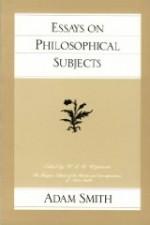 Essays on Philosophical SubjectsSmith, Adam - Product Image