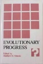 Evolutionary ProgressNitecki, Matthew H. (Editor) - Product Image