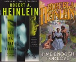 For Us the Living, Expanded Universe, Time Enough for Love, JOB: A Comedy of Justice (4 paperback novels)by: Heinlein, Robert A. - Product Image