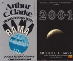 Fountains of Paradise, Childhood's End, 2001: A Space Odyssey,Rendezvous With Rama (4 paperback novels)by: Clarke, Arthur C. - Product Image