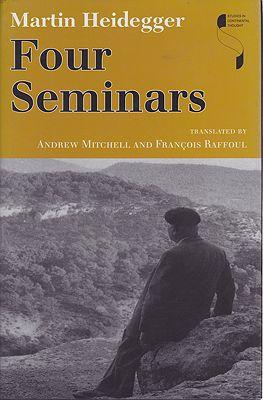 Four Seminars - Le Thor 1966, 1968, 1969, Zahringen 1973by: Heidegger, Martin  - Product Image