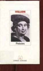 Francois Villon : Poesiesby: Villon  - Product Image