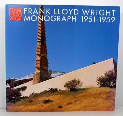 Frank Lloyd Wright Monograph 1951-1959 Volume 8 (Japanese to English Text)by: Futagawa (Editor, Photography), Yukio, Bruce Brooks Pfeiffer (Text) - Product Image