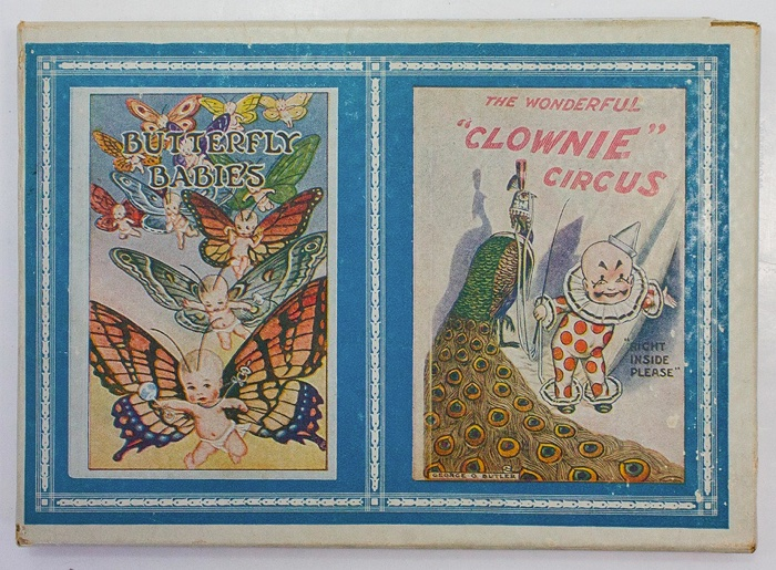George Olmsted Butler's Twin Funny Books: Butterfly Babies and The Wonderful Clownie Circus (2 Vols.)by: Butler, George Olmstead - Product Image