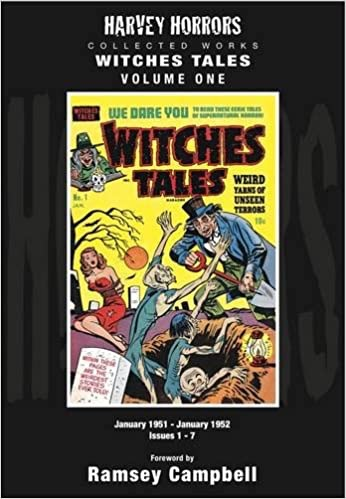 Harvey Horrors Collected Works Witches Tales: Volume 1by: Campbell, Ramsey (Foreword) - Product Image