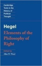 Hegel: Elements of the Philosophy of Right (Cambridge Texts in the History of Political Thought)by: Hegel, Georg Wilhelm Fredrich - Product Image