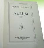 Henri Julien: Albumby: Julien, Henri - Product Image