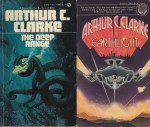 Imperial Earth, The Deep Range, The Lost Worlds of 2001, Earthlight  (4 paperback novels)by: Clarke, Arthur C. - Product Image