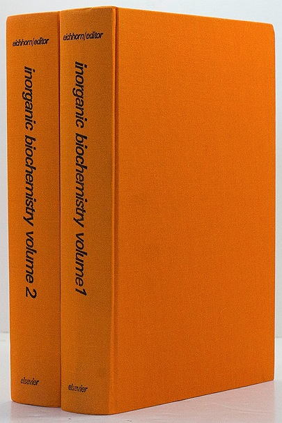 Inorganic biochemistry (2 Volumes)by: Eichhorn, Gunther L. - Product Image