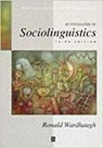 Introduction to SociolinguisticsWardhaugh, Ronald - Product Image