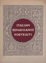 Italian Renaissance Portraitsby: N/A - Product Image