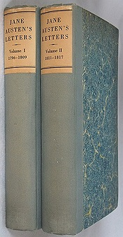 Jane Austen's Letters To Her Sister Cassandra and Othersby: Chapman, R. W. - Product Image