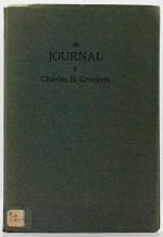 Journal of Charles B. Crockett, TheCrockett, Charles B. - Product Image