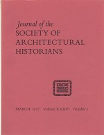 Journal of the Society of Architectural Historians, Volume XXXVI, Number 1- 4 March, May, October, December 1977 (Four Issues)O'Gorman (Ed.), James F. - Product Image