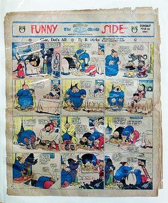 Katzenjammer Kids Original Comic Strips - Ten PagesDirks, Rudolph, Illust. by: Randolph  Dirks - Product Image