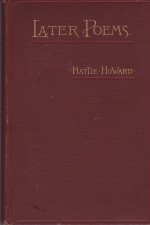 Later Poemsby: Howard, Hattie - Product Image