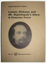 Lemon, Dickens, and Mr Nightingale's Diary: A Victorian FarceFisher, Leona Weaver - Product Image