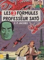 Les 3 Formules du Professeur Sato - Tome 1 Les Adventures de Blake et Mortimerby: Jacobs, E.P. - Product Image