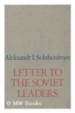 Letter to the Soviet leadersby: Solzhenitsyn, Aleksandr Isaevich - Product Image