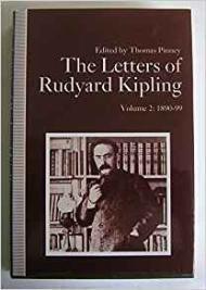 Letters of Rudyard Kipling, The: Volume 2: 1890-99by: Kipling, Rudyard - Product Image