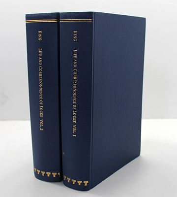 Life of John Locke - With extracts from his Correspondence, Journals, and Common-place books - In Two Volumes, Theby: King, Peter - Product Image
