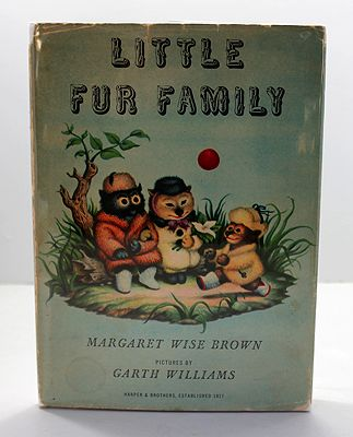 Little Fur Family (SIGNED COPY)by: Brown, Margaret Wise and Garth Williams - Product Image