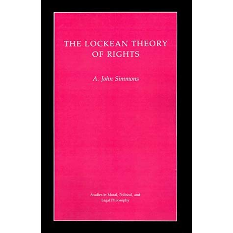 Lockean Theory of Rights, Theby: Simmons, A. John - Product Image