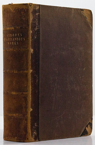Miscellaneous Works of Edward Gibbon, Esq., with Memoirs of His Life and Writings, Composed By Himself: Illustrated from His Letters, with Occasional Notes and Narrative - Complete in One Volume, The - Product Image