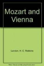 Mozart and Viennaby: Landon, H C Robbins - Product Image