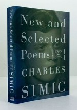 New and Selected Poems 1962-2012 (SIGNED COPY)Simic, Charles - Product Image