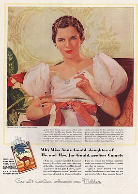 ORIG VINTAGE MAGAZINE AD / 1934 CAMEL CIGARETTES ADby: N/A - Product Image